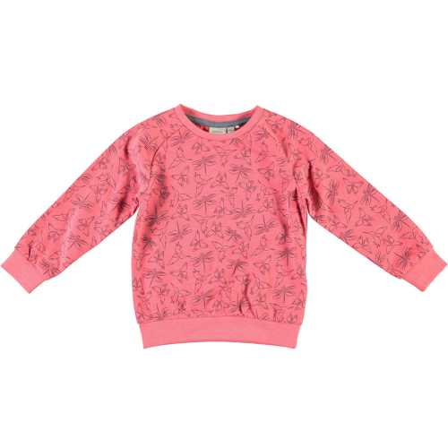 NAME IT Mädchen Sweatshirt VALBA, Sunist Coral