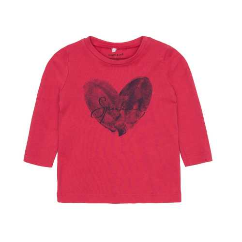 NAME IT Baby Mädchen Langarm-Shirt ESHEART