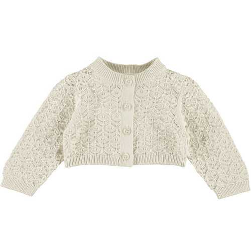 NAME IT Baby Lochstrick Bolero FATIA