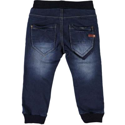NAME IT MINI Baby Baggy Jeans Hose BOB, Dark Blue