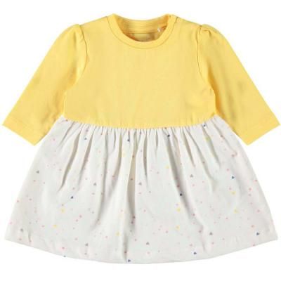 NAME IT Baby Kleid DAGNY, Pale Marigold