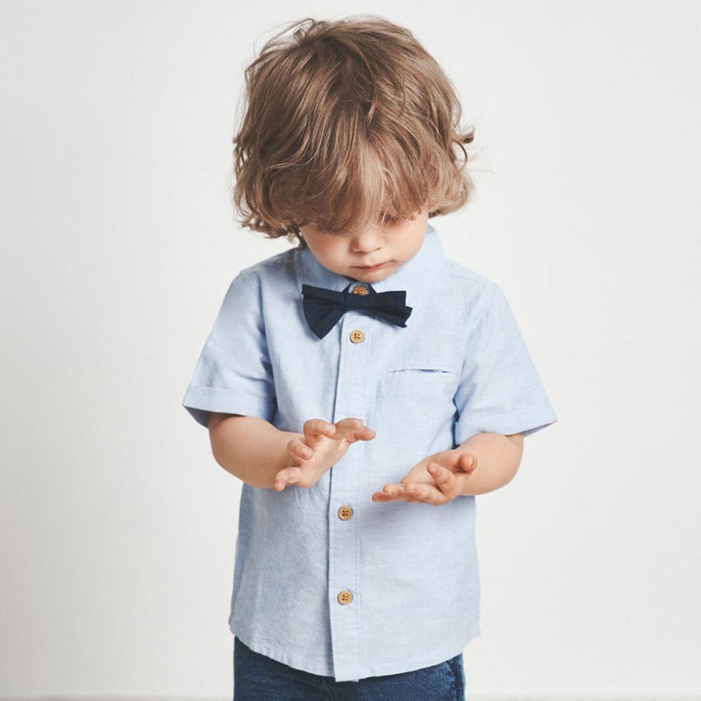 uk billig verkaufen neueste outlet NAME IT Jungen Kurzarm- Hemd mit Fliege FALSON