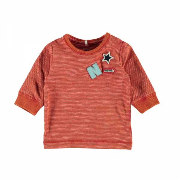 NAME IT Baby Jungen Langarm-Shirt ELIAS