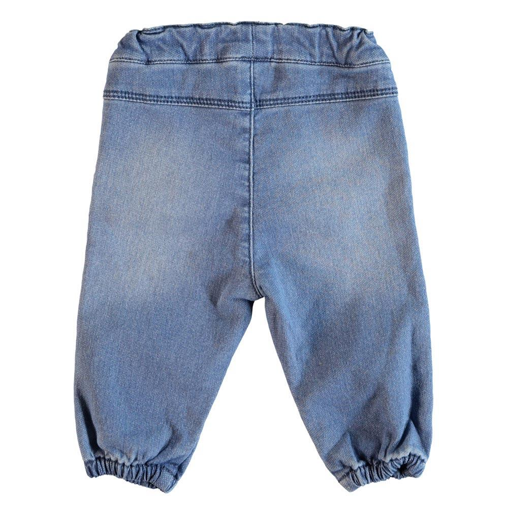 NAME IT Baby Sweat Jeans Hose ARONA, Light Blue