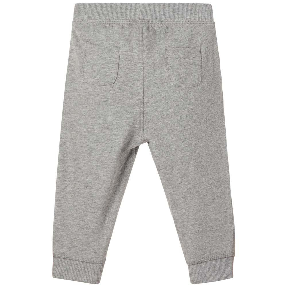 NAME IT Baby Baumwoll Hose NAVA, Grey Melange