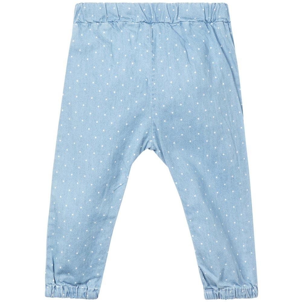 NAME IT Baby Mädchen Jeans Hose RIE, Light Blue