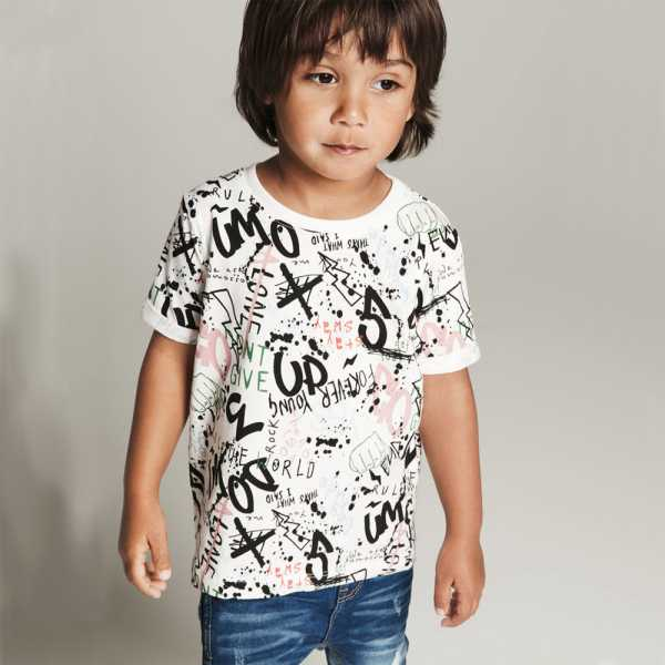 NAME IT Jungen T-Shirt kurzarm DAMIAN